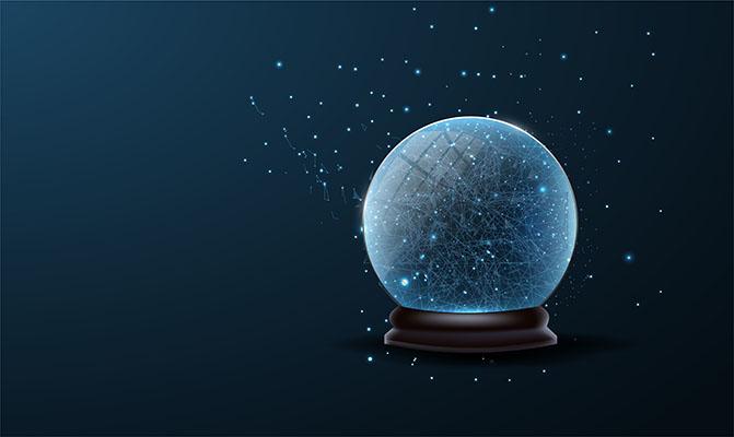 توپ برفي جشن سال نو درخشان کريسمس کريستال لايه باز طرح وکتور 3بعدي
