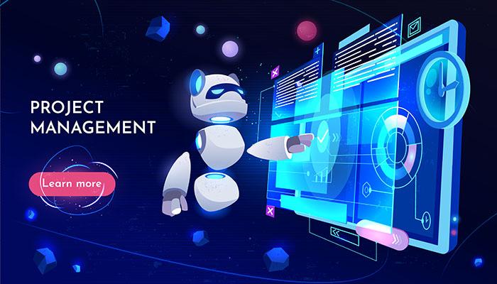 طرح وکتور ربات مدرن 3بعدي فناوري اطلاعات نرم افزار برنامه نويسي آنلاين ديجيتال